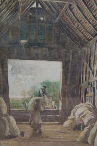 te_koop_aangeboden_een_aquarel_van_de_nederlandse_kunstschilder_willem_leonardus_bruckman_1866-1928