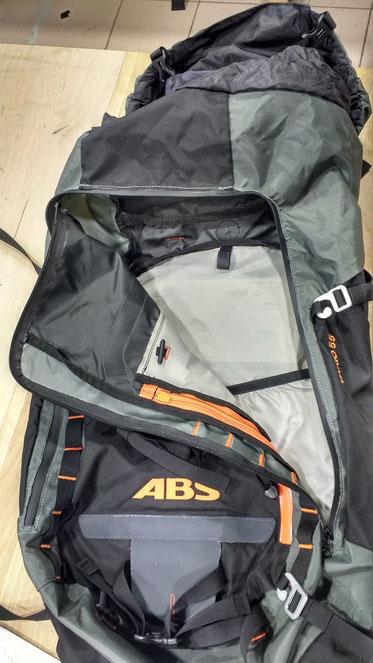 Remplacement du zip sur sac à dos, à partir de 20€