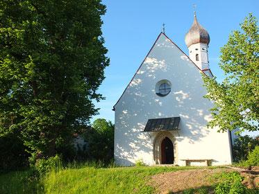 Kapelle von St. Mauritius in Seehausen am Staffelsee, Ortsteil Riedhausen