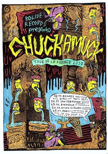 Chuckamuck france spain tour