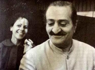 Meher Baba with Adele