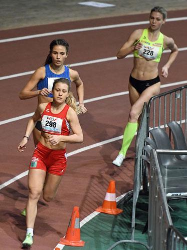 Julia Mayer WLV Landesmeisterschaften Halle 2018