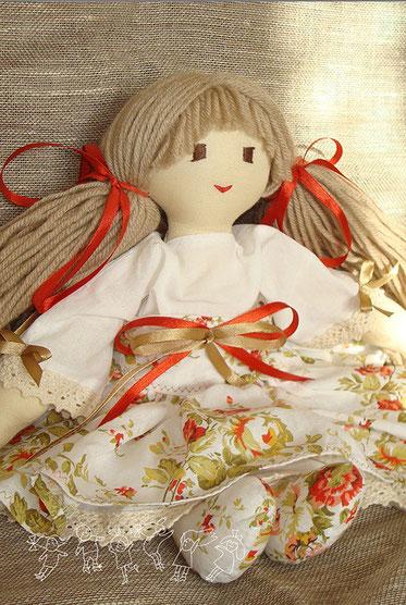текстильная кукла Даша
