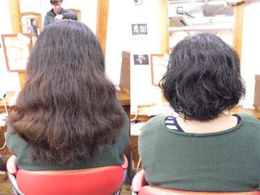 くせ毛カット | 毛亮の梳き方次第でスタイル(髪型)のまとまりが決まる 横浜で人気の美容室YUME-YUI~夢結~