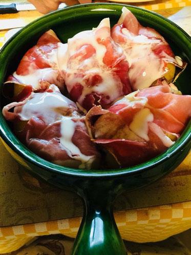 Bild: Rezept Jambon d´Auvergne et Pommes de Terre au St. Nectaire