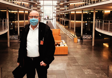 BRSI Vorstand Dr. Dieter Körner bei der StaRUG Anhörung im Bundestag.
