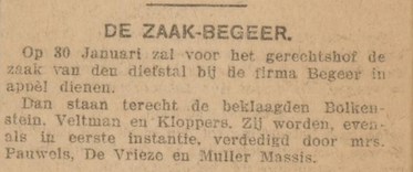 De courant 09-01-1918
