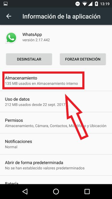 Borrar Caché De WhatsApp