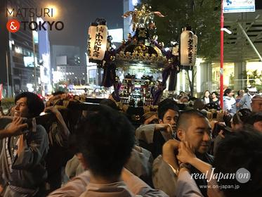 青山熊野神社例大祭,南青山,表参道,原宿