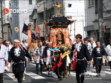 牛嶋神社大祭 , real japan 'on, 撫で牛,鳳輦