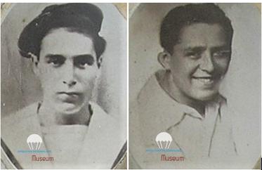 Les frères Georges et Robert FUNEL, tous deux morts pour la France.