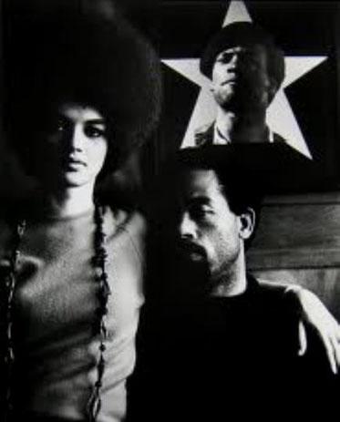Black Panther-medlemmer Eldrige og Kathleen Cleaver