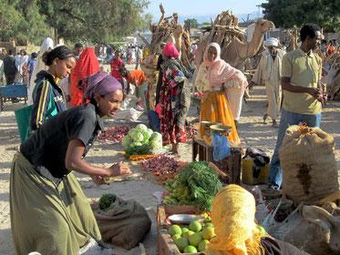 Marked i byen Keren