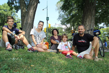 Un peu de repos à Central Park...