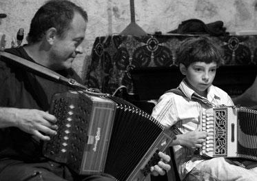 Stéphane Milleret, Maxime Rohart, accordéon diatonique