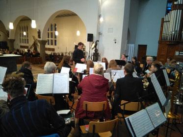 Städtischer Musikverein Erkelenz am 2. Weihnachtsfeiertag in St. Lambertus Erkelenz