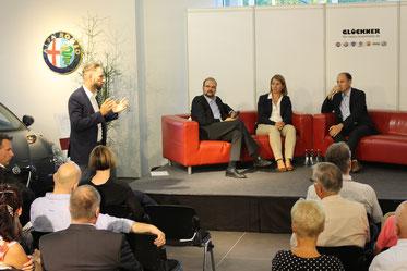 Der gemeinsamen Einladung der Dresdner Landtagsabgeordneten Aline Fiedler, Christian Piwarz, Patrick Schreiber, Christian Hartmann und dem CDU-Ortsverband Dresdner Südosten waren gut 50 Unternehmer, Wissenschaftler und CDU-Mitglieder gefolgt.