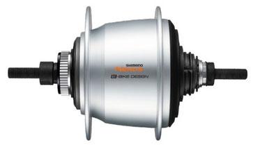 Die automatische Nabenschaltung Inter-5 Nexus wurde speziell für den Shimano Steps E6100 entwickelt