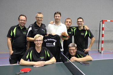 hinten v. l.: Christian Wulf, Sören Lindwedel, Torsten Schlüter, Ronny Gautzsch, Andreas Wente  vorne:  Silvia Fecht, Roman Rumpf