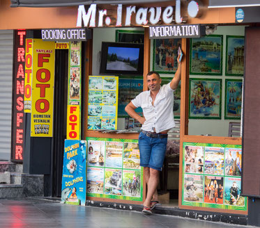 One of many tourist offices in Marmaris
