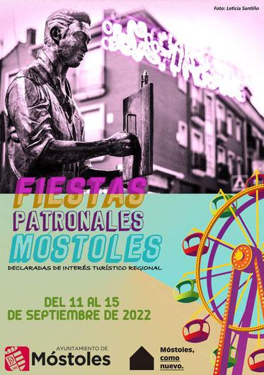 Fiestas de Móstoles Cartel y Programa