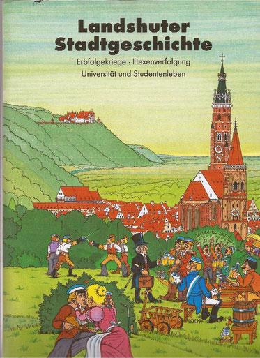 Die LMU in Landshut, Hexenverbrennung, Erbfolgekriege