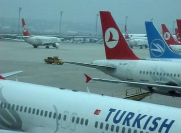 Istanbul Ataturk Airport  -  picture: hs