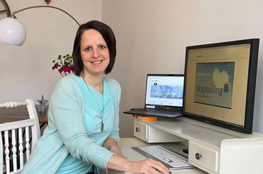 Keeping the ULD balance, even from a remote, home-office. Image: C. Klemmer