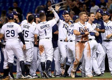 Nonostante la percentuale di vittorie pari agli Indians (561) i Tampa Bay Rays sono fuori dalla corsa per la Postseason