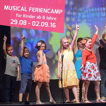 Sommerferien Kurs Musical Feriencamp für Kinder in Kleinmachnow Berlin Potsdam