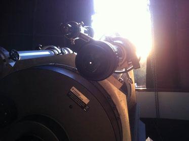 Sonnenbeobachtung, Foto: Benedikt Schnuchel