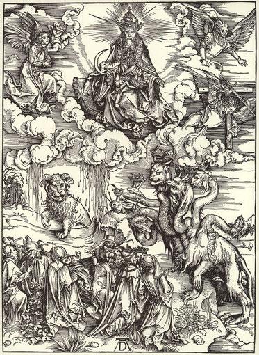 Aokalypse gemäss Albrecht Dürer 1498
