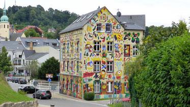 Unser Schatz des Tages: Fischer-Art-Haus in Sebnitz
