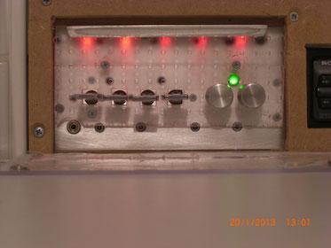 Radio kann mit Laser (Lichtschalter) geschaltet werden