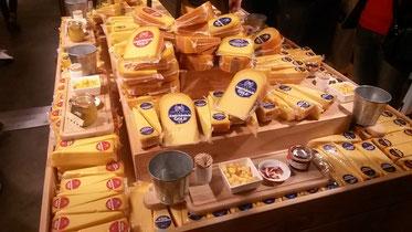 Die Auswahl in den Käse-Läden