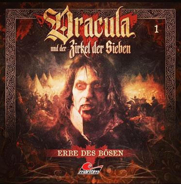 Katja Keßler. spricht für Dracula und der Zirkel der Seien die Rolle der Amy Harker, Maritim Verlag, 2020