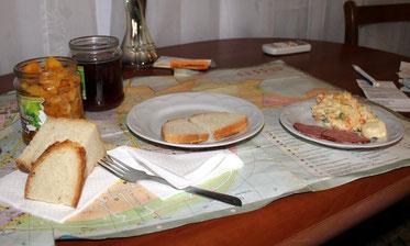 Abendessen in der Ukraine: Lecker!