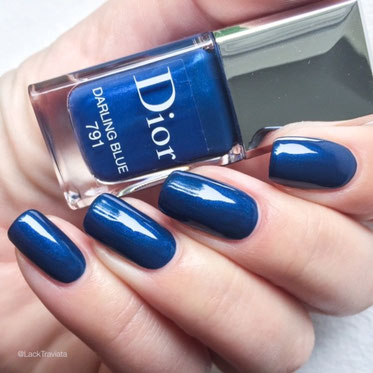 swatch Dior DARLING BLUE 791 by LackTraviata