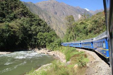 le train du MachuPicchu