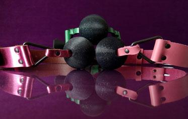 shiny sparkly ballgags ball gags metallic cute