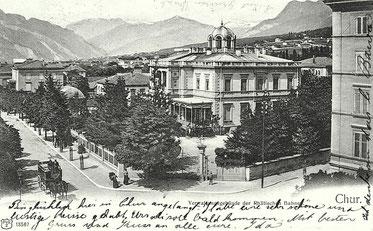 Weltpostverein, gestempelt 07. Januar 1903