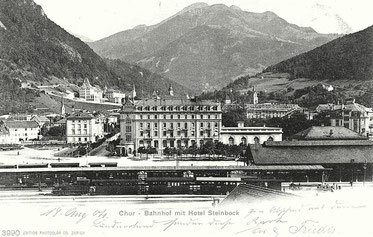 Edition Photoglob Co. Zürich, gestempelt 18.08.1904