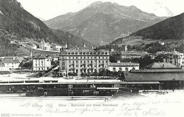 Edition Photoglob Co. Zürich, gestempelt 18. August 1904