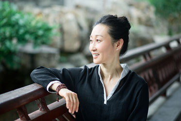 Weijia Cambreleng, instructrice en méditation pleine conscience (mindfulness)
