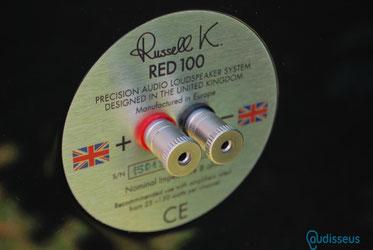 Russel K. Red 100  -  Praxistest  auf www.audisseus.de