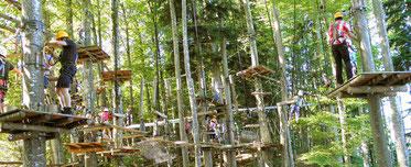 Waldseilgarten Oberaudorf