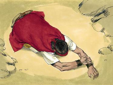 Les 24 anciens adorent Jéhovah Dieu et Jésus, ils se prosternent. Se prosterner, c'est s'incliner profondément devant quelqu'un en signe de profond respect, d'adoration, d'humilité, de soumission ou d'obéissance.