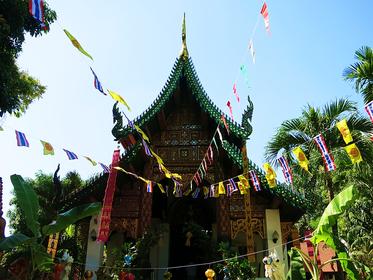 Tempel in der Altstadt von Chiang Mai