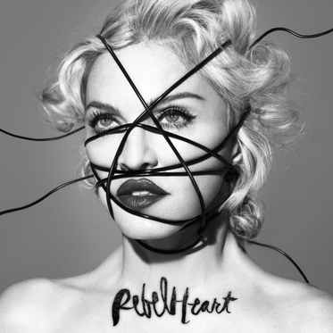 "Portada del disco filtrado ""Rebel Heart"""