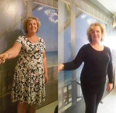 Before & After, 8 kilo kwijt na 8 weken MaiSaiz